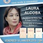 BIBLIOTHEQUE - 20150116 - AFFICHE - LAURA ALCOBA - 670