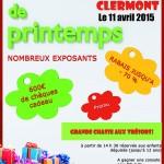 Braderie de printemps des commerçants 2015, samedi 11 avril 2015 - Clermont (Oise)