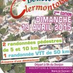 Boucles Clermontoises 2015 - 2ème édition, dimanche 19 avril 2015 - Clermont (Oise)