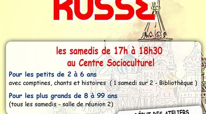 Cours de Russe à Clermont - Clermont (Oise)