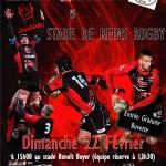 Clermont Club Rugby vs Stade de Reims Rugby, dimanche 22 février 2015 - Clermont (Oise)