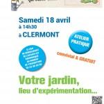 Les jardins s'emmêlent : votre jardin, lieu d'expérimentation - rencontre le samedi 18 avril 2015 - Clermont (Oise)