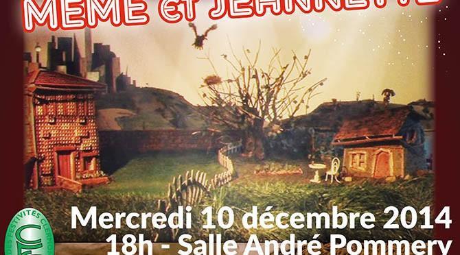 Spectacle de Noël pour les enfants de Clermont : Mémé et Jeannette - Clermont (Oise)