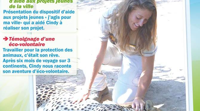 Voyage d'une éco-volontaire, soirée témoignage - expo photos, vendredi 26 septembre 2014 - Clermont (Oise)