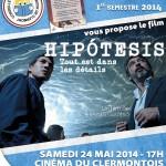 Cinéma : Hipótesis, samedi 24 mai 2014 - Clermont Oise