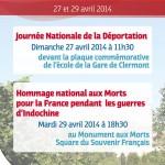 Cérémonie officielle - hommage national aux Morts pour la France pendant les guerres d'Indochine - Clermont Oise