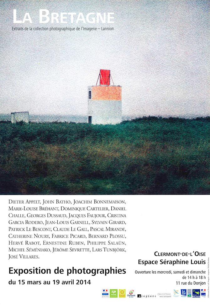 """Exposition """"La Bretagne"""" - Extraits de la collection photographique de l'Imagerie – Lannion, du 15 mars au 19 avril 2014 - Clermont Oise"""