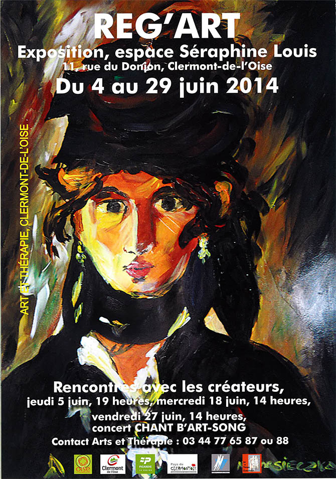 Exposition : Reg'Art, du 4 au 29 juin 2014 - Clermont Oise
