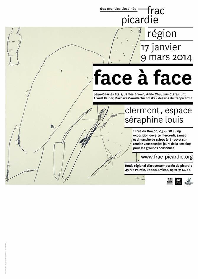 """Exposition """"Face à Face"""" du vendredi 17 janvier au dimanche 9 mars 2014 - Clermont Oise"""