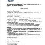 Conseil Municipal du jeudi 12 juin 2014 - Clermont Oise