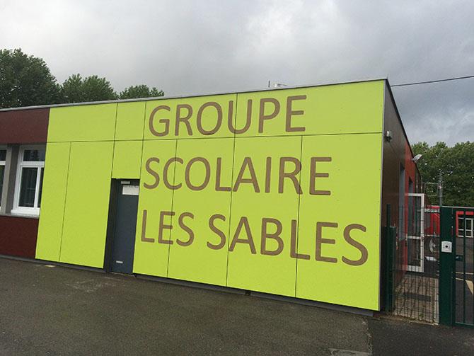 Travaux dans les écoles publiques - Eté 2015 - Clermont (Oise)