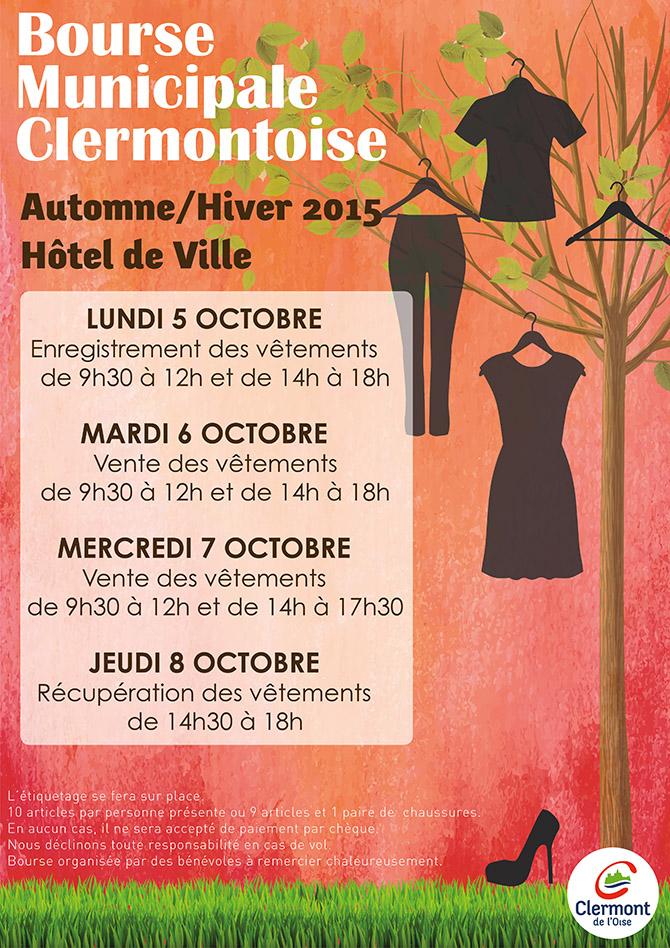 Bourse Municipale Clermontoise, Automne/Hiver 2015, - Clermont Oise