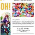 Soirée jeux de langue et troc-livres, avec le CAL, Ludoplanète de Beauvais et la bibliothèque de Clermont, mardi 2 février 2016 - Clermont Oise