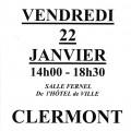 Collecte de sang par l'Établissement Français du Sang, vendredi 22 janvier 2016 - Clermont Oise