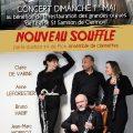 Concert-Nouveau-souffle-par-le-quatuor-4-de-Pic-ensemble-de-clarinettes-Affiche