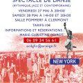 "Spectacle de danse ""New York"", vendredi 27 et samedi 28 mai 2016"