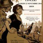 Concert - Et puis, se souvenir... chanter et danser en 14-18, samedi 12 novembre 2016