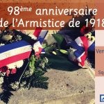 98ème anniversaire de l'Armistice de 1918, vendredi 11 novembre 2016
