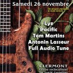 Concert Pop Acoustique 2016 - Lys, Pacific, Tom Martins, Antonin Lasseur, Full Audio Tune - Samedi 26 novembre 2016