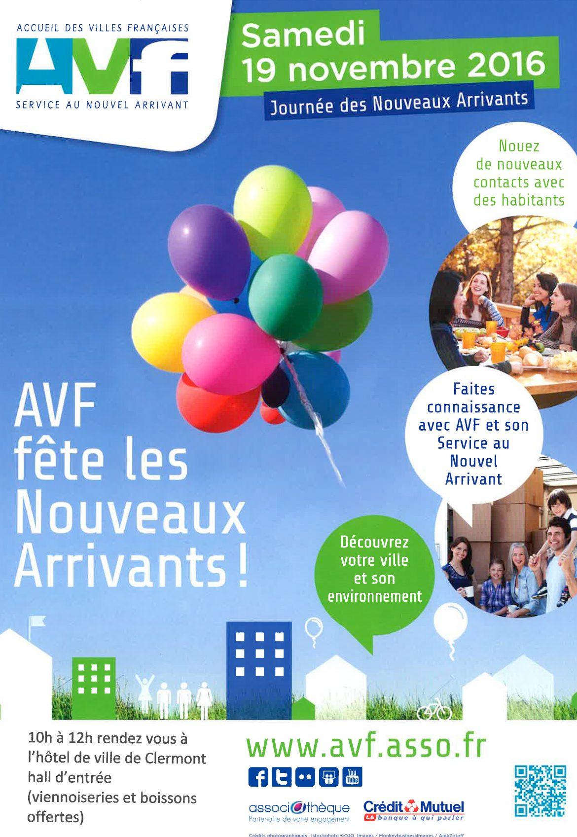 AVF, Accueil des Villes Françaises, Clermont, Oise, Hôtel de Ville, Nouveaux Arrivants