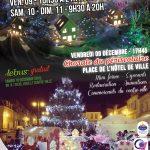 Le Marché de Noël de la ville de Clermont se tiendra les vendredi 9, samedi 10 et dimanche 11 décembre 2016.