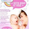 """Journée départementale de sensibilisation : """"votre bébé et vous"""", mardi 15 et mercredi 16 novembre 2016"""