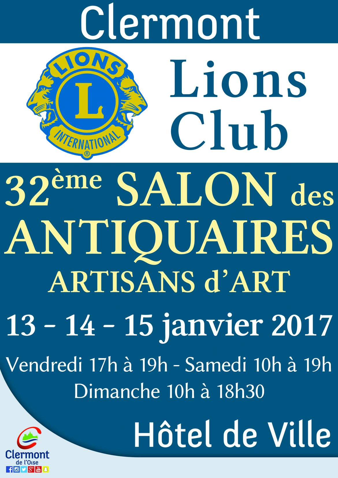 32 me salon des antiquaires artisans d art lions club for Salon antiquaires 2017