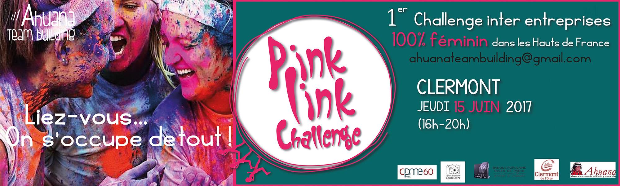 Pink Link Challenge – Challenge inter entreprises 100 % féminin - jeudi 15 juin 2017
